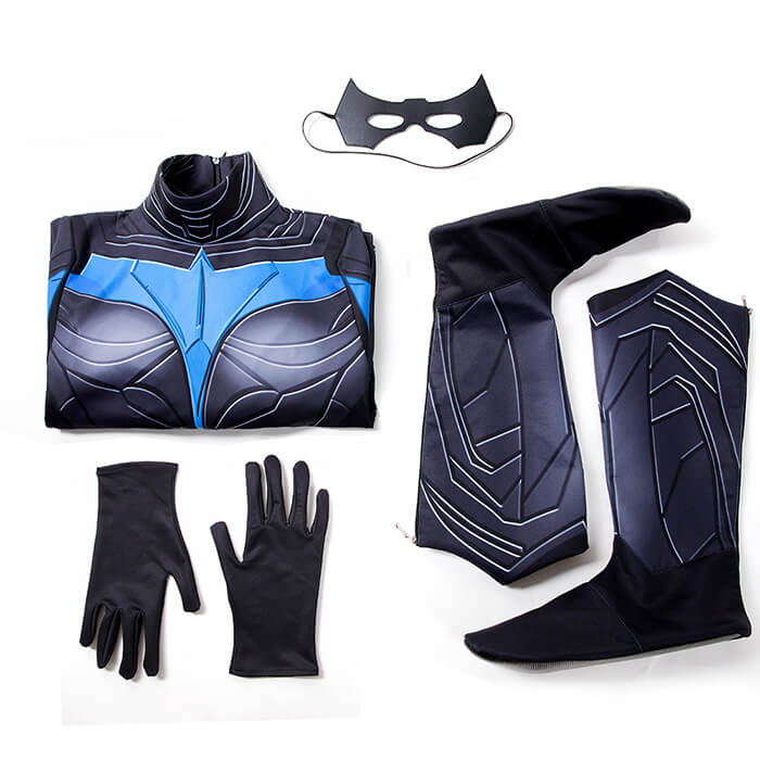 Guide To Nightwing Dick Grayson Cosplay Costume