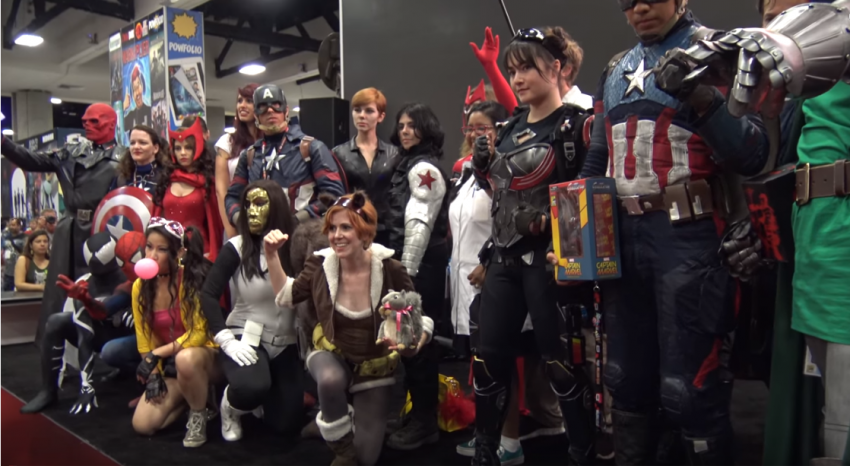 superhero cosplay