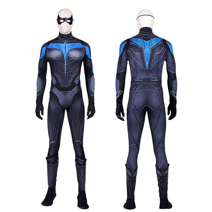 Nightwing Dick Grayson Cosplay Costume